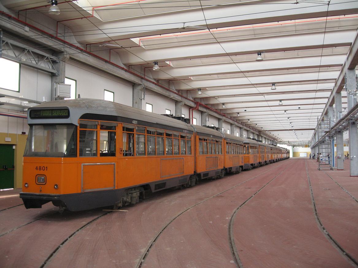 Il nuovo deposito tramviario di precotto for Www presotto it