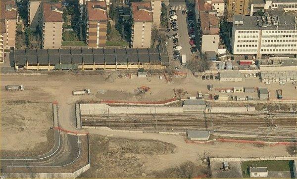 Qui finisce la parte interrata dei binari e i treni che ne - Stazione porta vittoria milano ...